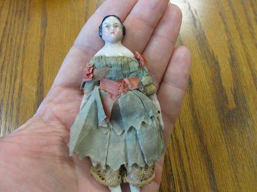 1800s Miniature China Head Doll | eBay