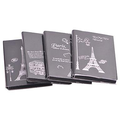 Eiffel-torni kuvio musta kirja Creative Vihko (S) – EUR € 2.47