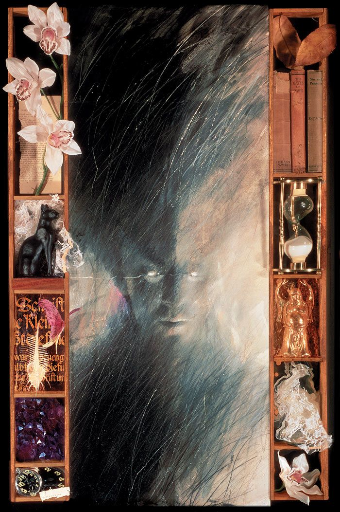THE SANDMAN #1 SPECIAL EDITION  Dave McKean had an influence shaping my visual ideas in my late teens..