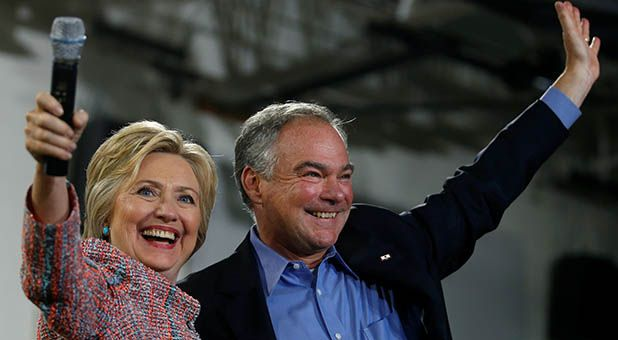 """Another election, another pro-abortion """"Catholic"""" on the democrat ticket. Hillary Clinton has named Senator Tim Kaine of Virginia as her vice-presidential pick, making this the fourth consecutive election to see a Catholic nominated to one of the top two spots by the democrats. Of course, like almost every other democrat who claims to be Catholic..."""