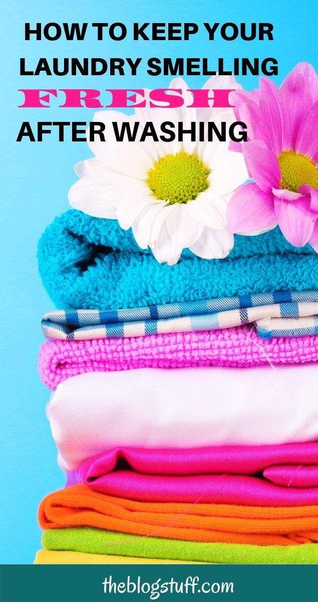 Make Laundry Smell Good Fresh Naturally 11 Brilliant Hacks That