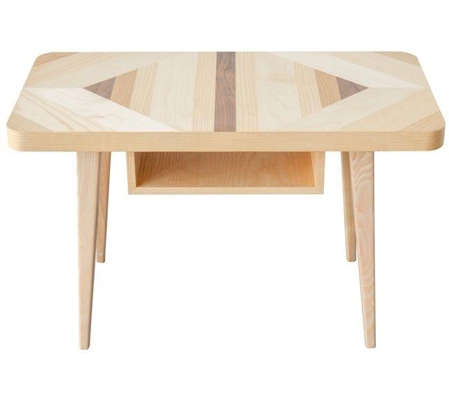 Stolk kawowy MINI PUZZLE 1 marki Wood&Paper #ladnerzeczy #targirzeczyladnych #ladnerzeczydziejasiewinternecie #polishdesign #design