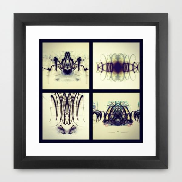 Lights Collage Framed Art Print: Framed Art Prints, Frames Prints, Collage Frames, Frames Art, Framed Prints