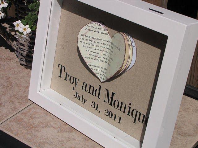 Wedding heart gift