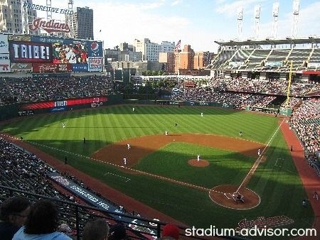 Have fun in downtown Cleveland. Take in an Indians game. GO TRIBE! http://www.stadium-advisor.com/cleveland-indians-schedule.html