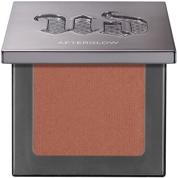 Urban Decay Afterglow 8-Hour Powder Blush - Colour Video (91 BRL) ❤ liked on Polyvore featuring beauty products, makeup, cheek makeup, blush, urban decay blush, powder blush, creamy blush and urban decay