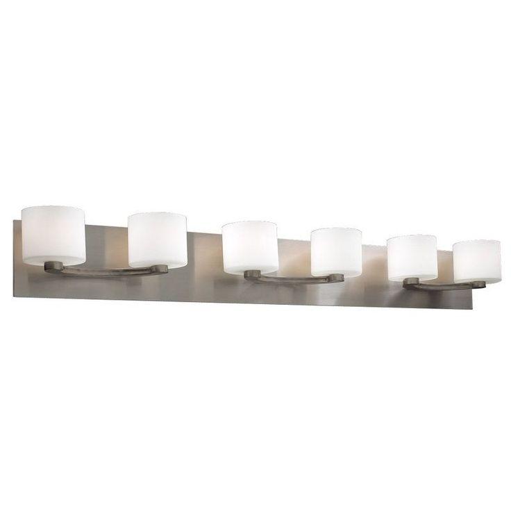 Plc lighting plc 7616 six light decorative bathroom vanity light fixture from the de lion collection