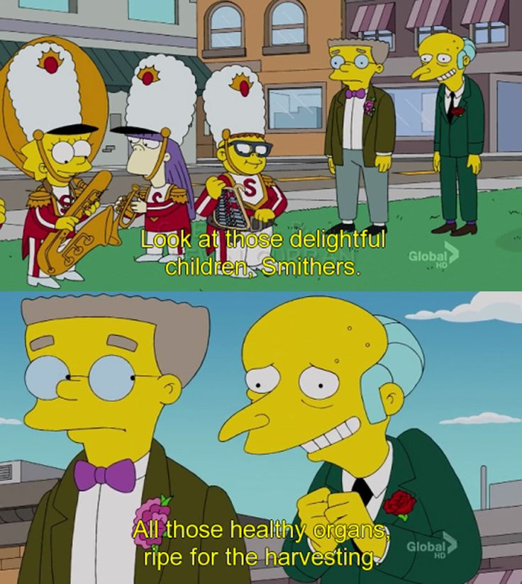 Simpsons Quotes: When He Was An A+ Entrepreneur.