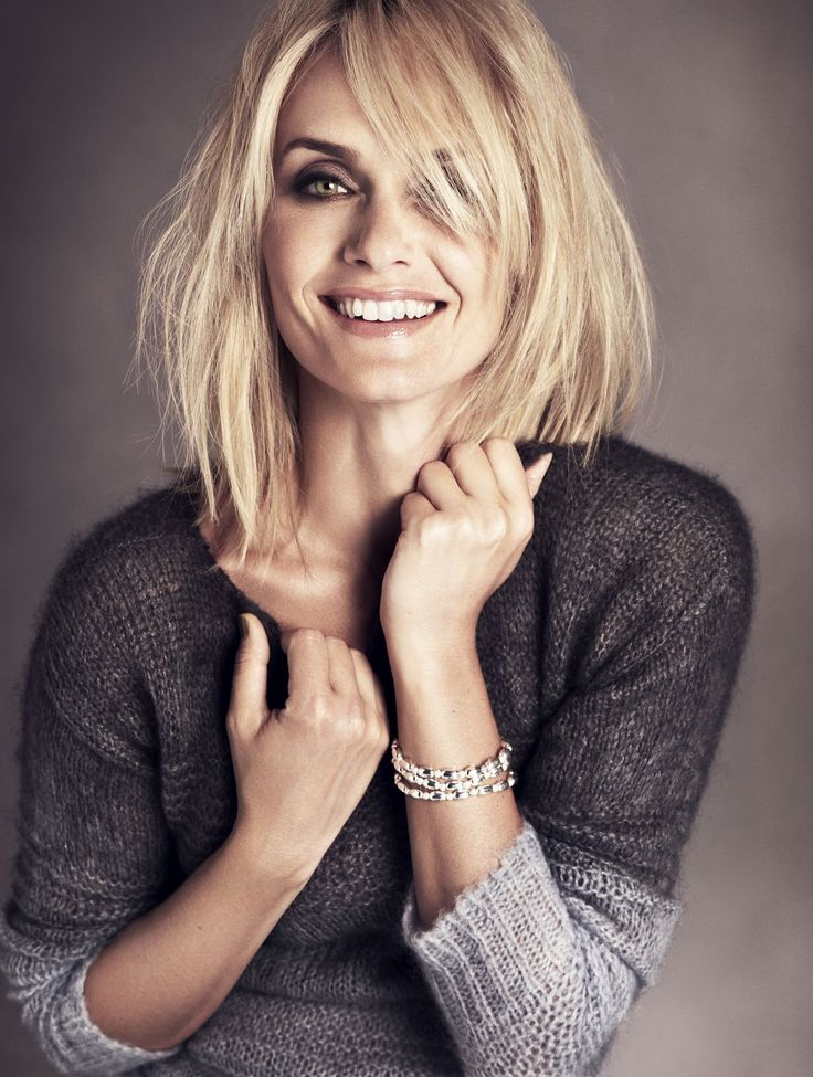 That's Not My Age: Amber Valetta models for M&S