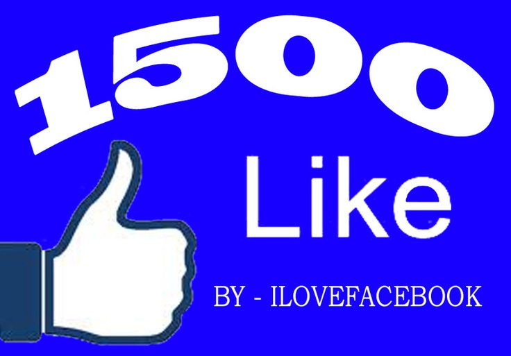 ilovefacebook: add 1500 high quality real human and not disappearing fans to your facebook page for $5, on fiverr.com