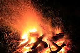 The bonfire represented life in the novel. The bonfire was not only the life source of the circus but on the night of the lighting Poppet and Widget were born, as though the circus gave them life.