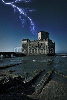 Nettuno - Roma - Torre Astura - Temporale