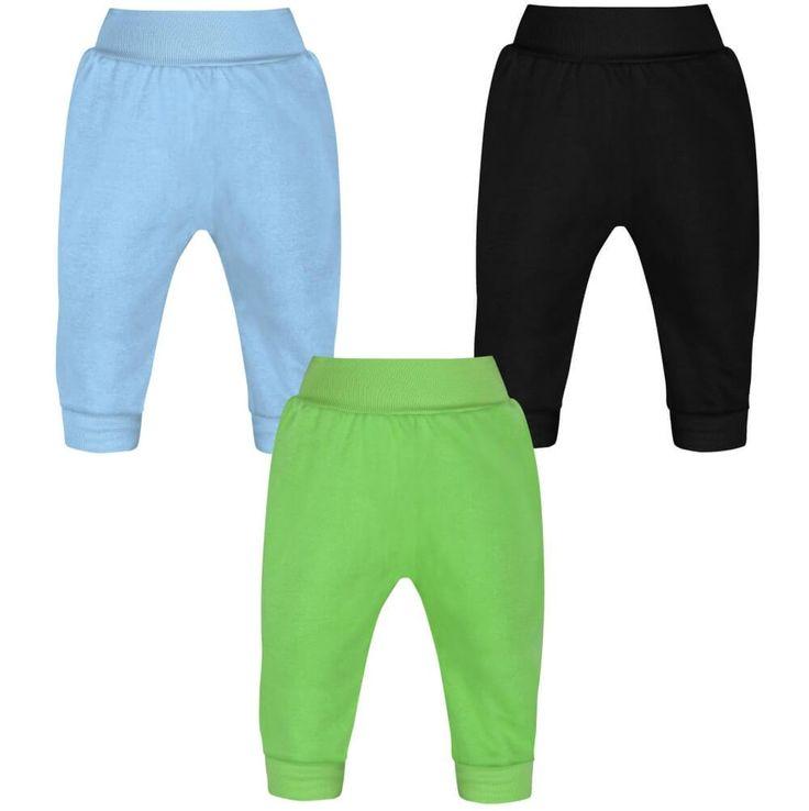 Lot de 3 Pantalons bébé garçon (3 couleurs)