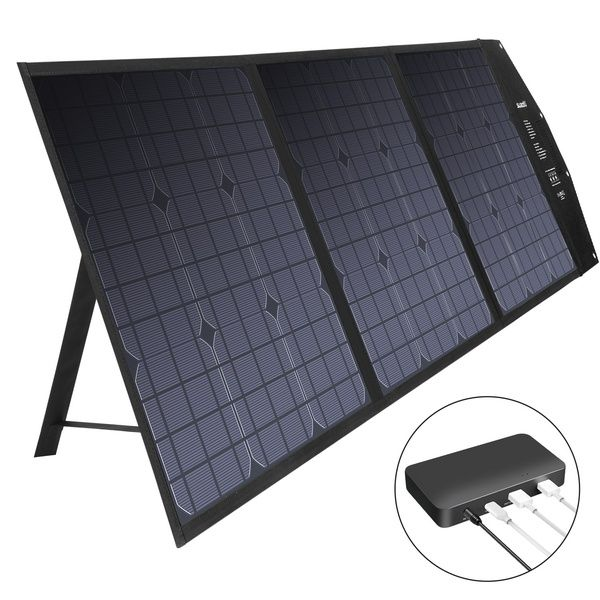 Suaoki 120w Solar Charger Foldable Solar Panel For Smartphones Laptops Car Battery Power Stations Wish In 2020 Solar Panel Charger Solar Charger Phone Power Bank