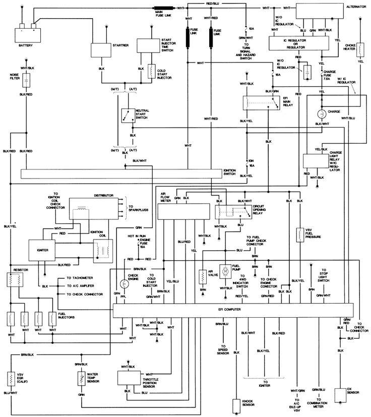 Toyota 2kd Ecu Wiring Diagram  2 In 2020