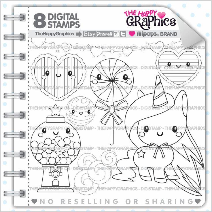 Unicorn Stamp, 80%OFF, COMMERCIAL USE, Digi Stamp, Digital Image, Unicorn Digistamp, Unicorn Coloring Page, Unicorn Graphic, Printable