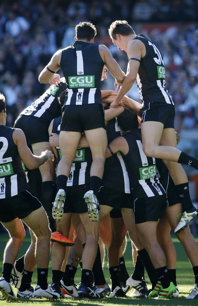 Mason Cox AFL debut; Anzac Day; first goal | HeraldSun