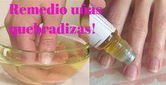 Refuerza las uñas quebradizas con solo 2 ingredientes. Nada mas doloroso que romperse una uña muy cerca de la piel o doblarse esta hacia atrás! Para evitar