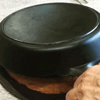 [GIF] If you're a fan of this sub you probably know there's nothing like cast iron baking. This is the reveal of a cast iron pineapple upside-down cake :) #baking #cooking #food #recipes #cake #desserts #win #cookies #recipe #cakes #cupcakes