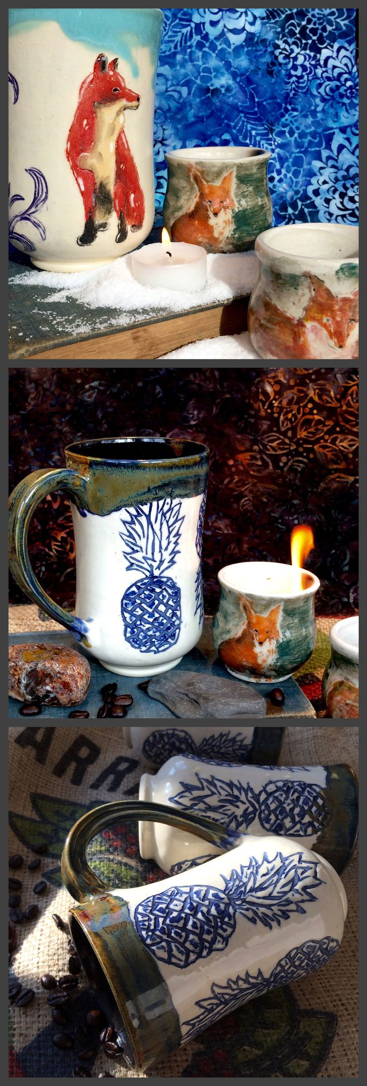 By Lone Fox Pottery