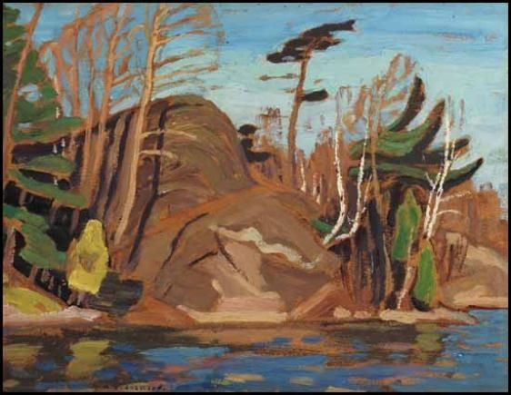 Alexander Young Jackson - October, Georgian Bay,... on MutualArt.com