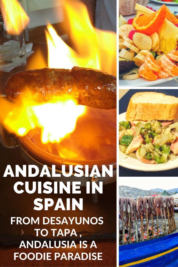 Andalusian Cuisine: from Desayunos to Tapas in Spain #spain #andalucia #tapasinspain #spanishfood via @https://www.pinterest.com/xyuandbeyond/
