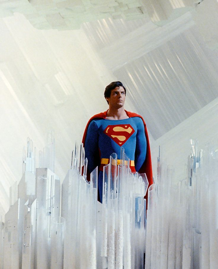 DC Comics in film n°3 - 1978 - Superman - Christopher Reeves as Superman