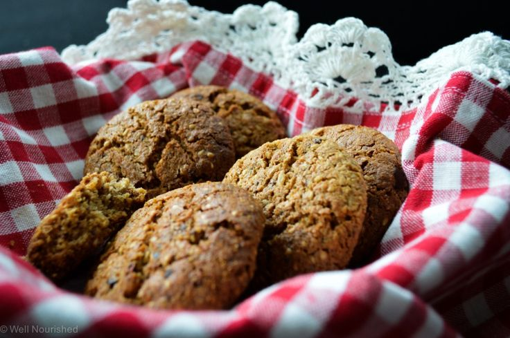 This incredibly nourishing Anzac Biscuit is packed with goodness, nut free and a perfect addition to children's lunch boxes. Gluten free options and lots of delicious variations.