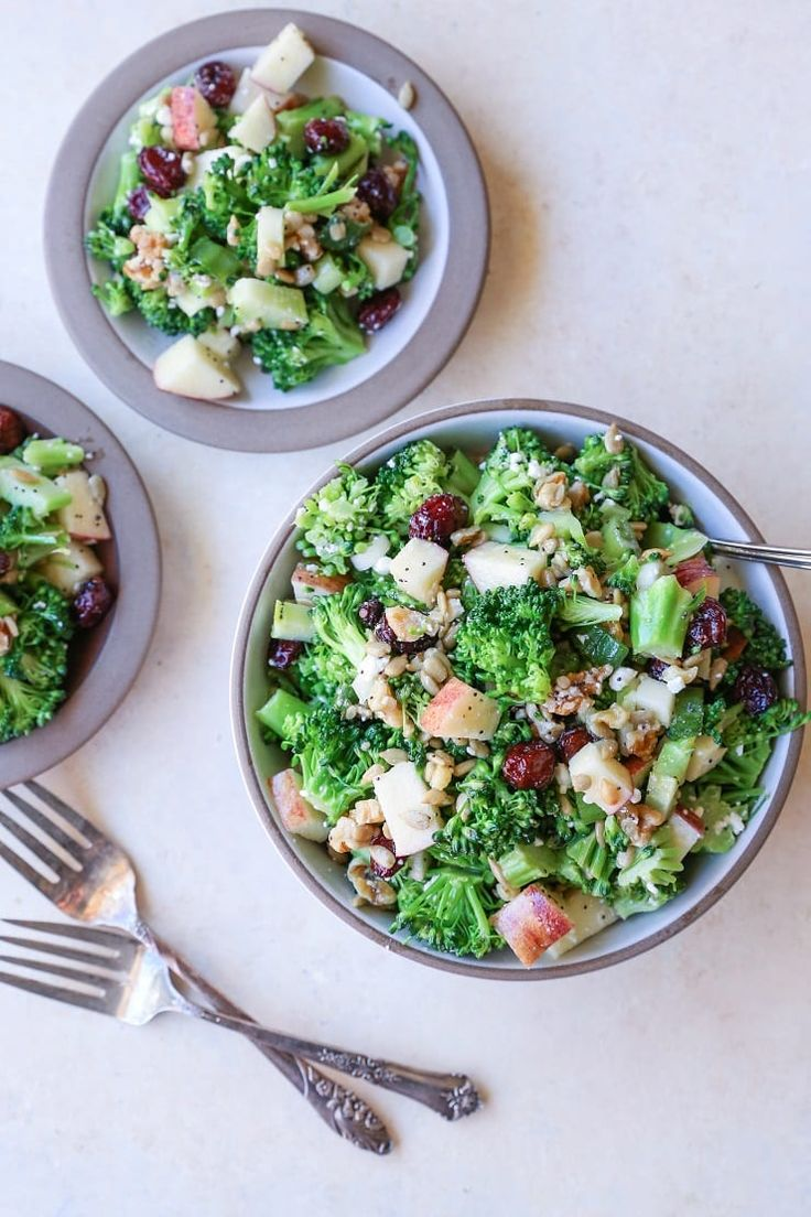 Crunchy, refreshing mayo-free broccoli salad with dried cranberries, walnuts, sunflower seeds, feta cheese, and lemon poppy seed dressing – a perfect side dish for any meal.  When I was…