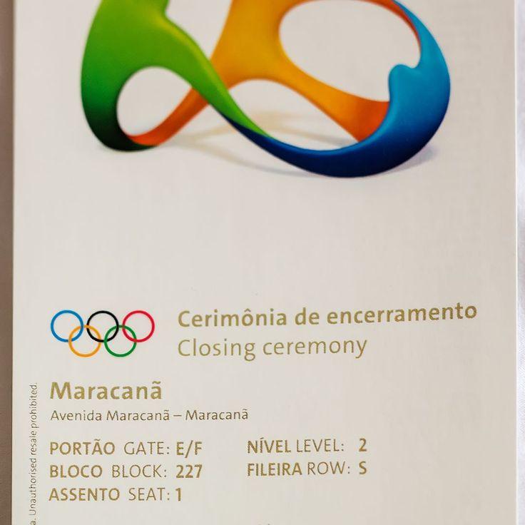"""Convidamos todos nossos amigos para um bate papo pré #CerimôniadeEncerramento hoje no #MaracanãEste é o nosso """"endereço"""" como tudo está tão simples e organizado no estádio será muito fácil nos encontrar para um abraço. nos vemos lá!!! - - - - - - - - - - - -#rio2016 #olympics #olimpiadas2016 #rio #riodejaneiro #olimpiadas #brasil #olympics2016 #brazil #olympicgames #ClosingCeremony  #CerimoniadeEncerramento  @azulinhasaereas #azul #voeazul #blogueirorbbv #azulmagazine #MTur #ViajePeloBrasil…"""