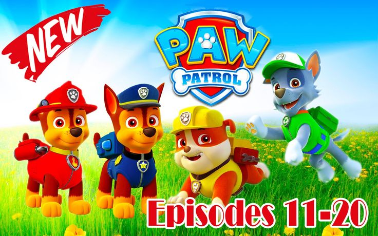 Paw Patrol Full Episodes English | Season 1 Episodes 11-20