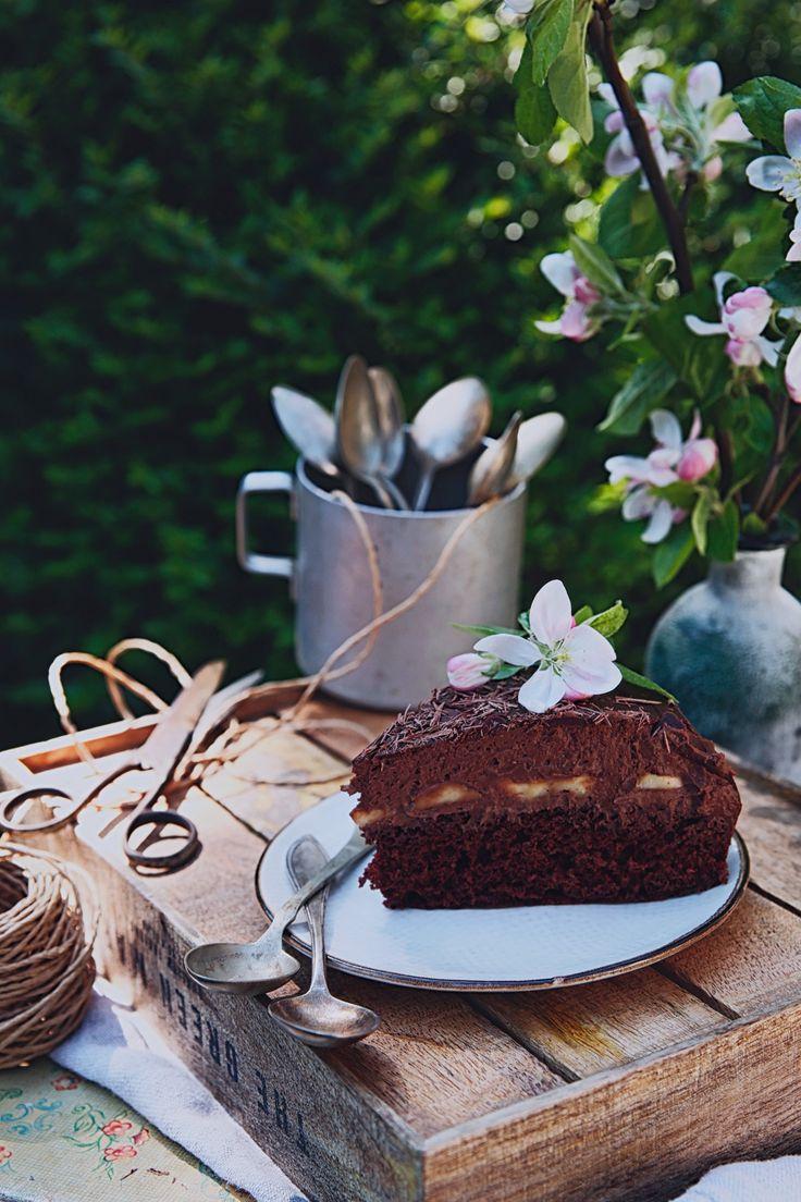 St[v]ory z kuchyne   Chocolate Rum Cake