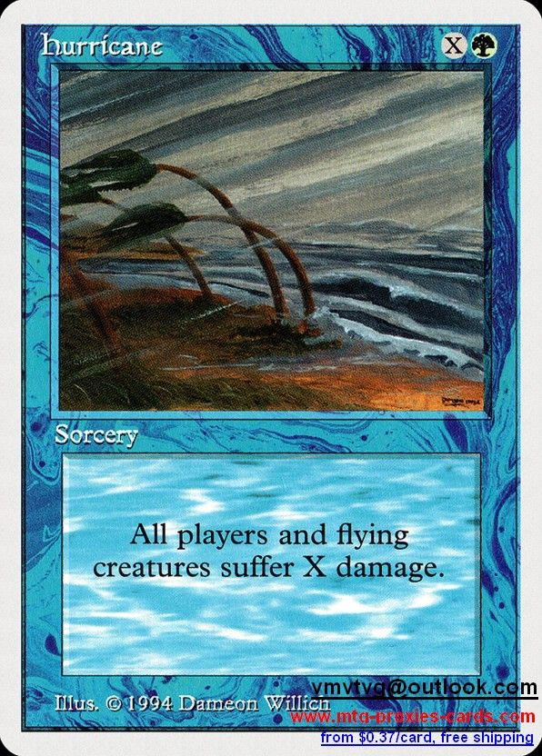 Hurricane.xlhq Magic The gathering proxy mtg proxies cards customize from 0.37$ free shipping SUM - Summer Magic (Edgar)