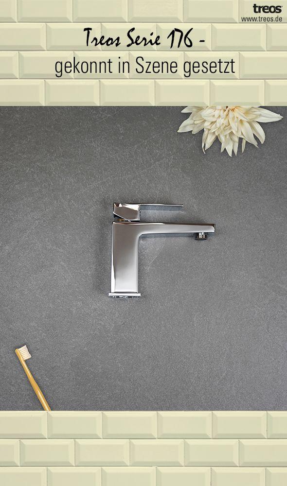 Ein Modernes Badezimmer Und Eine Moderne Armatur Erganzen Sich
