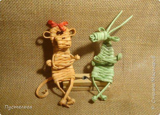 pletenie obezjana