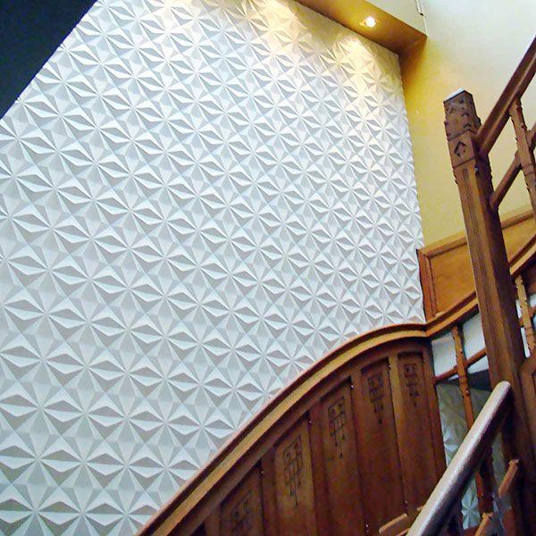 11 7 8 Inch W X 11 7 8 Inch H Kent Endurawall Decorative 3d Wall Panel White 3d Wall Panels Pvc Wall Panels Metal Wall Panel
