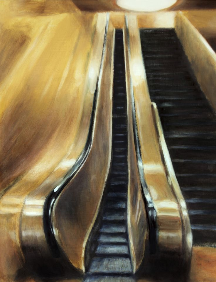 Skinny Elevator by Pat Rice