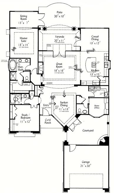 66 best images about home plans on pinterest house plans for Retirement house plans
