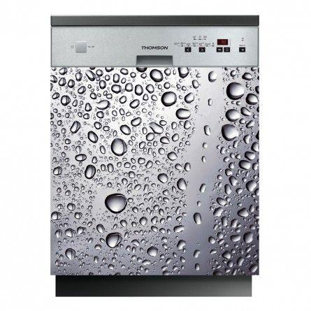 Stickers lave vaisselle goutte d'eau