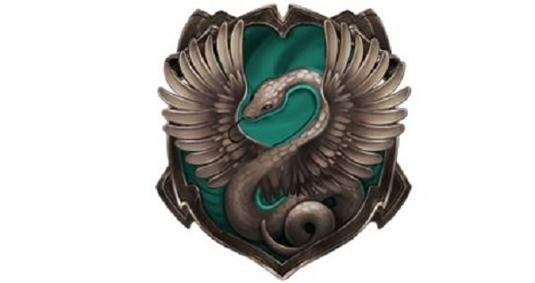 """Quiz Results - Which is your Hogwarts Hybrid House? I got Slytherclaw, as expected. """"You belong to house Slytherclaw. Your associated traits are Ambitiousness, Cunning, Creativity, Resourcefulness, Intelligence, Wit, Wisdom, Originality, Individuality, and Acceptance.   Your heraldic animal is the Coatl, your house color is Teal, and your house metal is Argentum. Slytherclaw's elements are Water and Air."""""""