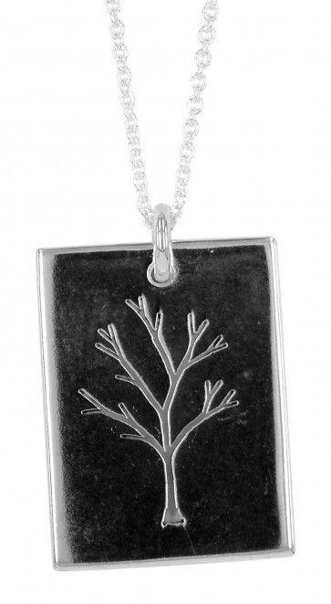 pierced tree pendant by melissa baldock