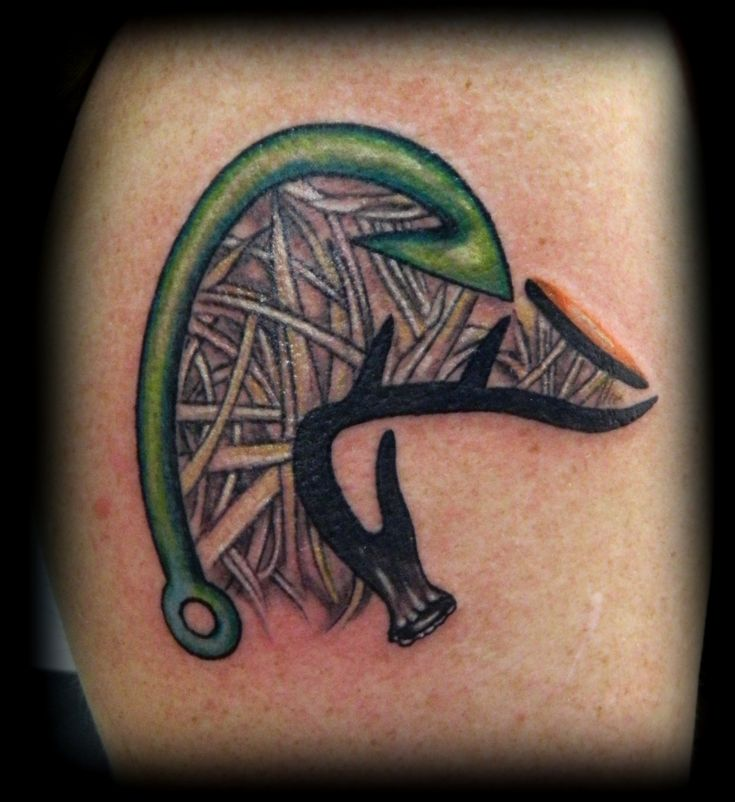 duck hunter tattoo #1
