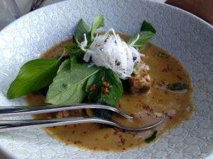 Panang curry at BangPop Melbourne