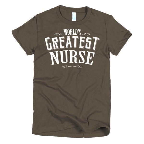 Women's World's Greatest Nurse T-Shirt