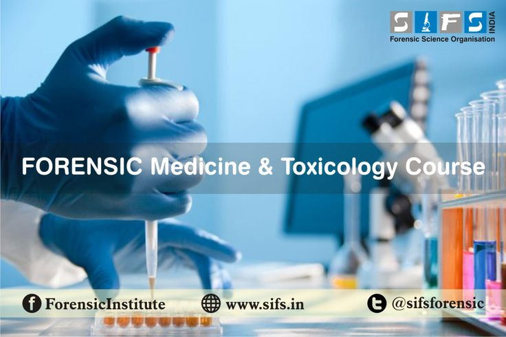 Forensic Biology and toxicology Courses, services at very reasonable cost with govt approved