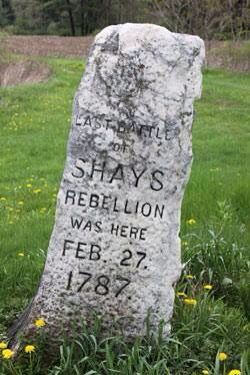 shay rebellion Shays' rebellion was a series of violent protests staged during 1786 and 1787  by a group of american farmers who objected to the way state.