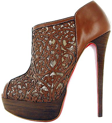 GIVE me :(: Fashion, Christian Louboutin Shoes, Pampas Boot, Brown, Heels, Boots, Shoes Shoes, Bags, Christianlouboutin