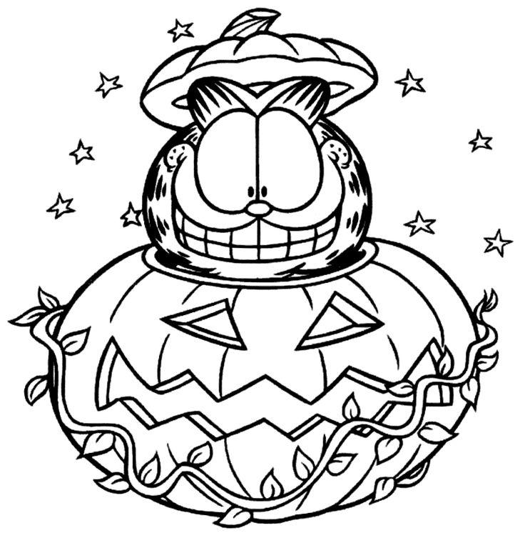 63 besten Halloween Coloring Pages Bilder auf Pinterest | Halloween ...