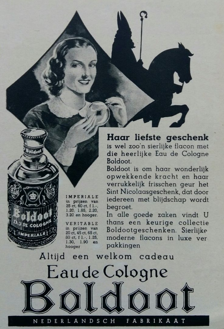 BOLDOOT Sinterklaas advertentie