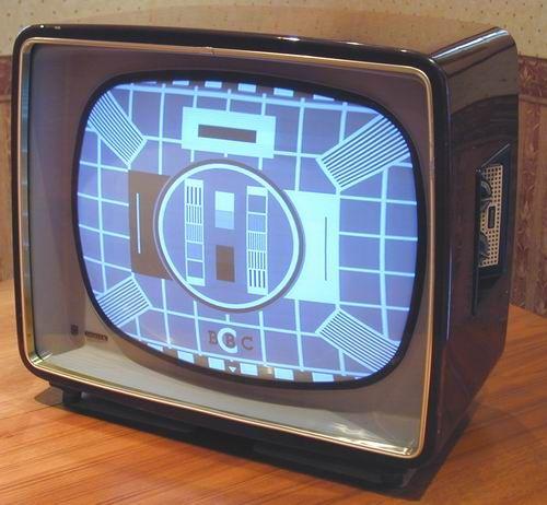 """Philips 21G100 TV - 21"""" Screen - 1959"""